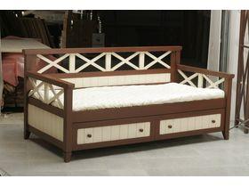 """Детская подростковая кровать диван """"Океан"""" в комбинированном исполнении"""