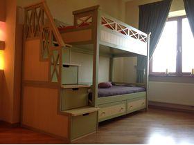 """Детская подростковая двухъярусная кровать """"Океан"""" в комбинированном исполнении"""