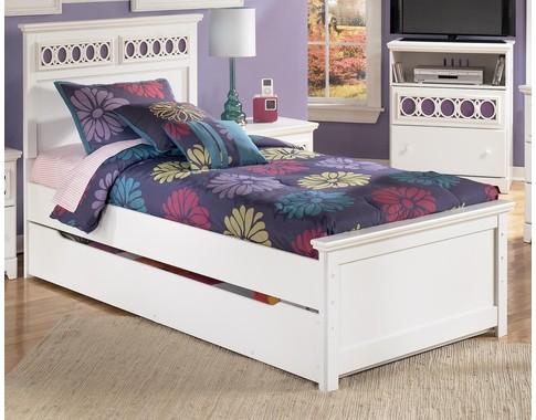 """Кровать Zayley"""" с доп. спальным метсом"""