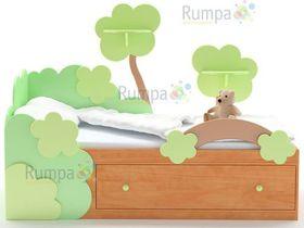 """Детская кровать """"Гном"""" (без полочек)"""