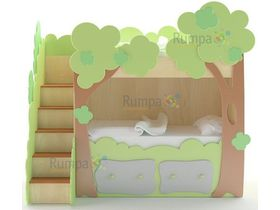 """Двухъярусная детская кровать с ящиками """"Эльф"""""""