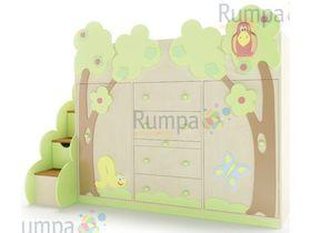 """Детская кровать чердак с ящиками """"Эльф"""""""