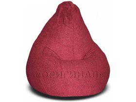 Кресло-мешок велюр бордо