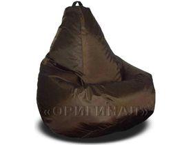 Кресло-мешок полиэстер коричневое