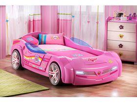 """Кровать-машина """"BiPinky"""""""