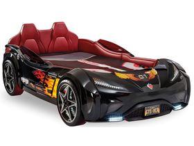 """Кровать-машина """"GTS Carbed"""", под матрас 99х191 см в чёрном цвете"""