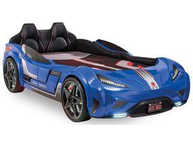 """Кровать-машина """"GTS Carbed"""", под матрас 99х191 см в синем цвете"""