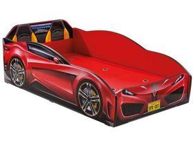 """Кровать-машина """"Spyder"""", под матрас 70х131 см в красном цвете"""