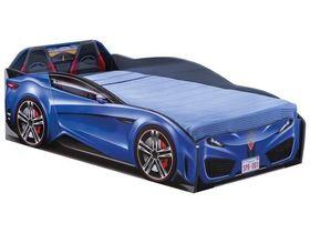 """Кровать-машина """"Spyder"""", под матрас 70х131 см в синем цвете"""