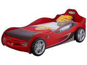 """Кровать-машина """"Race"""", под матрас 90х190 см в красном цвете"""