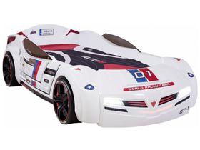 """Кровать машина """"Biturbo Carbed"""", 90х195см, белая"""