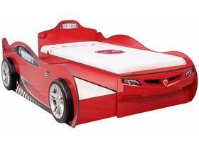 """Кровать машина """"Coupe Friend"""" c выдвижной кроватью, 90х190/90х180см, красная"""