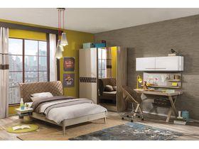 """Детская комната мебели для подростков в цвете светлого дерева """"Lofter"""""""