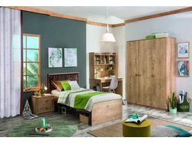 """Детская комната для подростков """"Mocha"""" в натуральном цвете дерева"""
