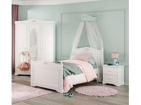"""Белая детская мебель в классическом стиле """"Rustic White"""""""