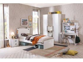 """Детская коллекция мебели в современном стиле """"White"""""""