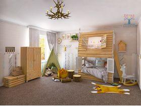 """Коллекция мебели для детской комнаты """"Лесные приключения"""""""
