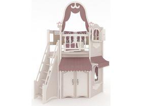Домик малый, наклонная, закрытая лестница