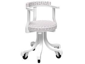 Кресло на колесиках (не крутящийся)