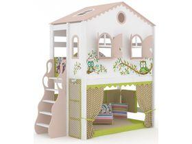 Домик большой Совы, наклонная, закрытая лестница, панели- ручная роспись