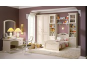 "Детская комната ""Тезоро Люкс"" с шелкографией на фасадах"