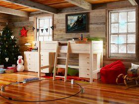 """Детская кровать-чердак в нескольких размерах """"Стокгольм"""""""