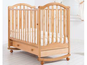 """Детская кроватка качалка-колесо """"Лейла"""""""