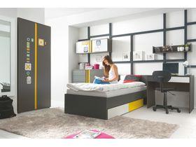 """Детская комната для мальчика """"Graphic"""" с белыми либо серыми фасадами"""