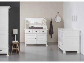 """Белая мебель для новорожденных """"Bateau II Pure White"""""""
