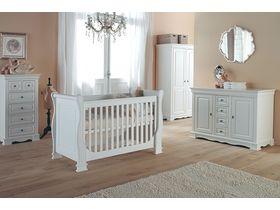 """Мебель белая для новорожденных """"Louise de Philippe"""""""