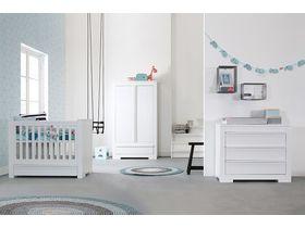 """Мебель белая для младенцев """"Nature White"""""""