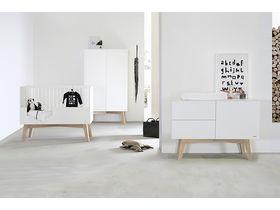 """Белая детская мебель """"Sixties White / Oak"""""""