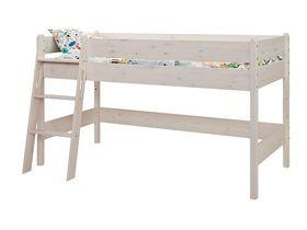"""Детская кровать-чердак 120 из массива сосны """"Каспер"""""""