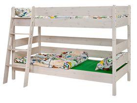 """Детская двухярусная кровать 150 из массива сосны """"Каспер"""""""