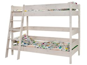 """Детская двухярусная кровать 180 из массива сосны """"Каспер"""""""
