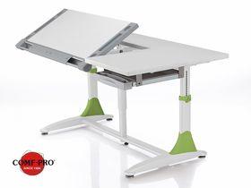 """Парта трансформер (зеленые ножки) для школьника Comf-Pro """"BD-368"""""""