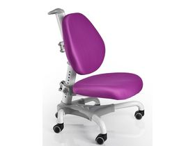 """Фиолетовое ортопедическое кресло для школьника """"Mealux Y-718"""""""