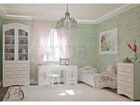 """Комната для девочки """"ПРОВАНС"""" в белом цвете"""