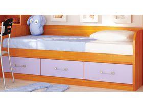 """Детская кровать диван с 3 ящиками в сереневом цвете """"Макс"""""""