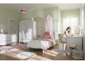 """Детская комната для девочек """"Crown"""" с кроватью в нескольких размерах"""