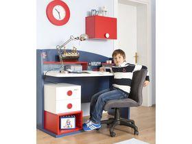 """Детский стол для школьника с ящиками в морском стиле """"Nautica"""""""