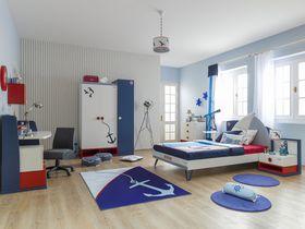 """Детская комната """"Nautica"""" в морском стиле для мальчишек"""