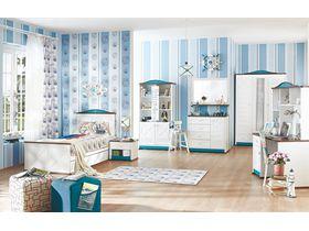 """Детская комната для мальчика """"Sailing"""" в белом цвете"""