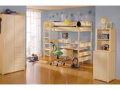 """Мебель для детской комнаты """"Fleximo"""" с кроватями чердаками"""