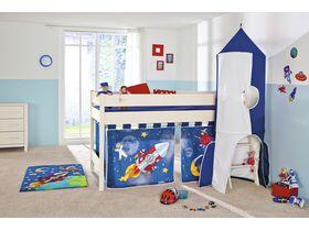 Детская кровать-чердак Sophia высотой 125 см