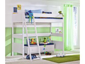Детская кровать-чердак с лестницей наклонной Sophia высотой 183 см