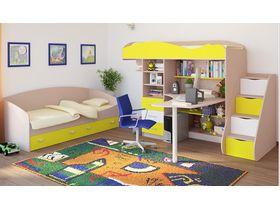 Детская кровать чердак с рабочей зоной