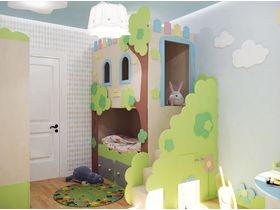 """Детская спальня для ребенка """"Заколдованный лес - Эльф"""""""