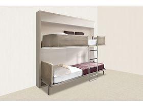 "Компактная двухъярусная кровать ""DUOS"""