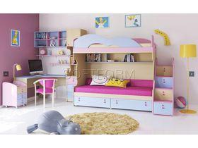 """Детская комната для двоих детей """"МИА"""" (Комбинация 3)"""